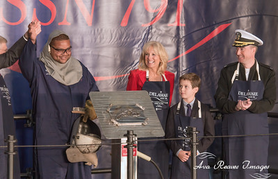 Newport News Shipbuilding Celebrates Keel Laying of Submarine Delaware SSN 791