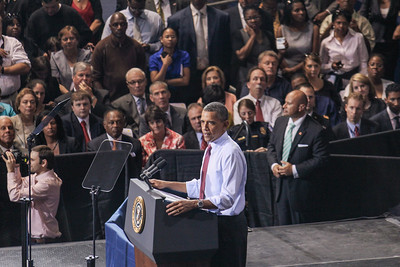 President Obama at University of Richmond