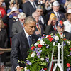 President Obama Lays The Wreath