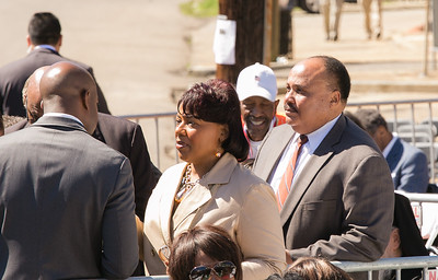 Bernice and Martin Luther King III
