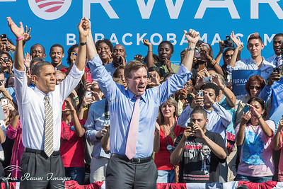 President Obama and Sen. Mark Warner