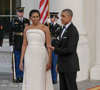 "President Obama ""First Lady Looks Great""!"