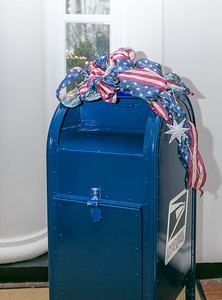 Traditional Post Office Mailbox