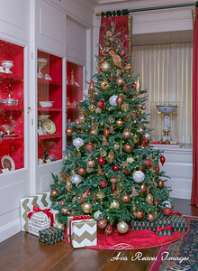 Christmas Tree in The China Room