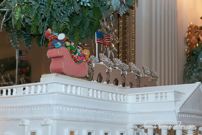 Decorations in the State Dinning Room