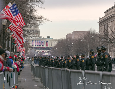 The Inauguration In The Distance