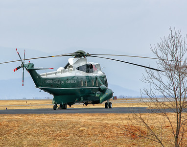 Marine One at CHO