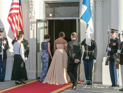 Off to The Nordic Leaders State Dinner