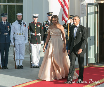 Presenting President Barack Obama and First lady Michelle Obama