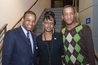 Justin Fairfax, Shemicia, and Antione Green