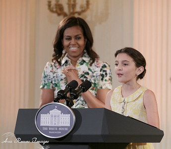 Abbey Introduces the First lady