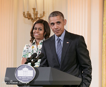 President Barack Obama and Michelle Obama