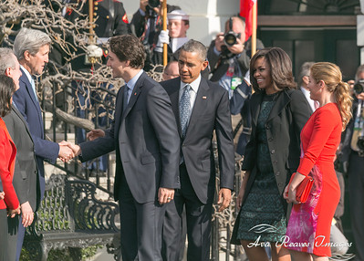 Leaders Greeting White House Officials