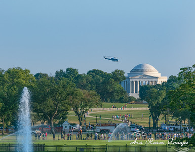 Views From The White House South Lawn