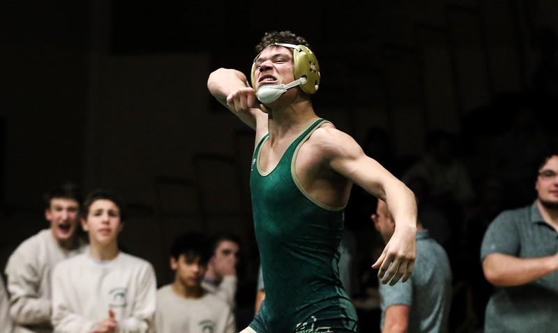 Caleb AlvaradoBrick Memorial wrestling v/s Southern in Brick, NJ on 1/10/19.[DANIELLA HEMINGHAUS   THE OCEAN STAR]