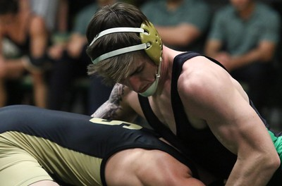 Ean Mueller Brick Memorial wrestling v/s Southern in Brick, NJ on 1/10/19. [DANIELLA HEMINGHAUS | THE OCEAN STAR]