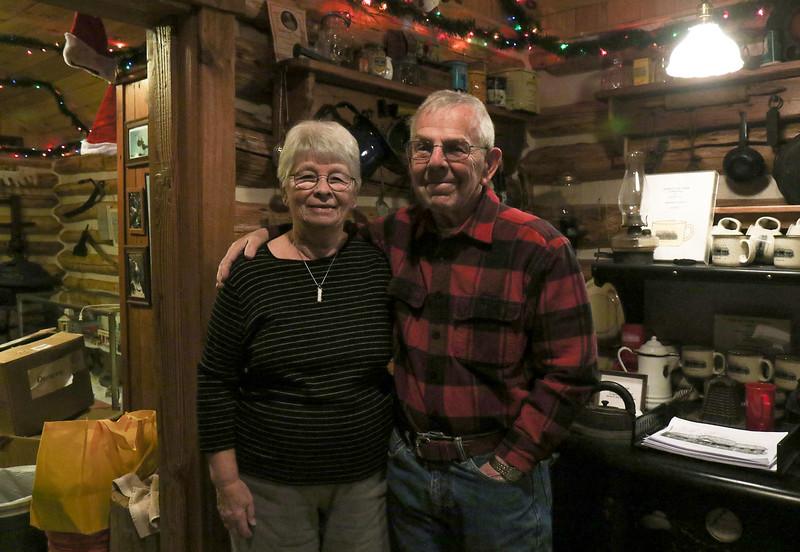 Richard Morris and his wife, Sharon at the Bennett Cabin in Point Pleasant Boro, NJ on 1/9/19.[DANIELLA HEMINGHAUS | THE OCEAN STAR]