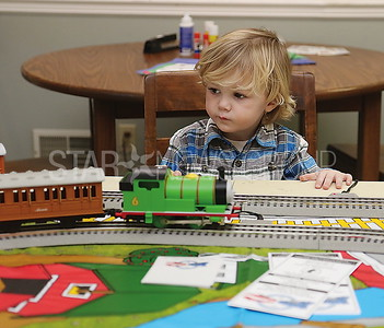 pt beach library trains //Brody Kosequat 2 Pt Pleasant watching the trains go by