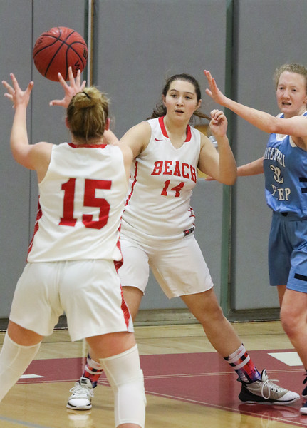 no.14, Patricia Rizzo and no. 15, Cassidy Burns