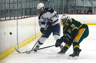 no.14, Alec Wells Manasquan hockey v/s Red Bank Catholic in Wall, NJ on 2/6/19. [DANIELLA HEMINGHAUS   THE COAST STAR]