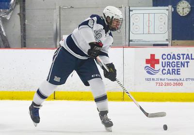 no.6, Aidan Tolnai Manasquan hockey v/s Red Bank Catholic in Wall, NJ on 2/6/19. [DANIELLA HEMINGHAUS   THE COAST STAR]