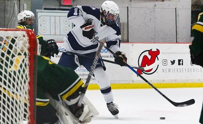no.19,  Manasquan hockey v/s Red Bank Catholic in Wall, NJ on 2/6/19. [DANIELLA HEMINGHAUS | THE COAST STAR]