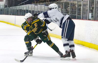 no.16, Mike Franzoni Manasquan hockey v/s Red Bank Catholic in Wall, NJ on 2/6/19. [DANIELLA HEMINGHAUS   THE COAST STAR]