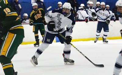 no.17, Ryan Scott Manasquan hockey v/s Red Bank Catholic in Wall, NJ on 2/6/19. [DANIELLA HEMINGHAUS   THE COAST STAR]