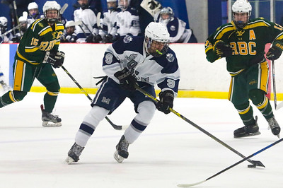 no.9, Michael Farinacci Manasquan hockey v/s Red Bank Catholic in Wall, NJ on 2/6/19. [DANIELLA HEMINGHAUS | THE COAST STAR]