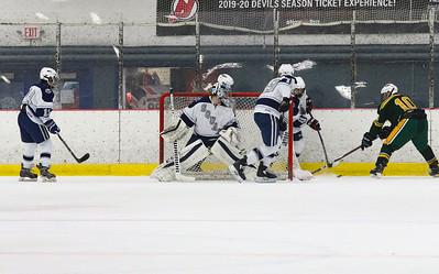 Manasquan hockey v/s Red Bank Catholic in Wall, NJ on 2/6/19. [DANIELLA HEMINGHAUS   THE COAST STAR]