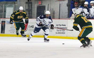 no.18, Manasquan hockey v/s Red Bank Catholic in Wall, NJ on 2/6/19. [DANIELLA HEMINGHAUS | THE COAST STAR]