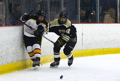 no.22, Matt Buccino Point Pleasant Boro Hockey v/s Saint John Vianney in the Handchen Cup in Wall, NJ on 2/13/19. [DANIELLA HEMINGHAUS | THE OCEAN STAR]