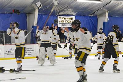 Final: 3-1 SJV Point Pleasant Boro Hockey v/s Saint John Vianney in the Handchen Cup in Wall, NJ on 2/13/19. [DANIELLA HEMINGHAUS | THE OCEAN STAR]