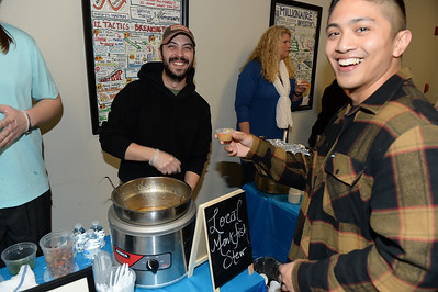 Local Monk Fish Stew from Shore Fresh Seafood was one of the many soups being offered at the Point Pleasant Beach 2019 Soup Cook Off held in Point Pleasant Beach, NJ on 02/21/2019. (STEVE WEXLER/THE OCEAN STAR).