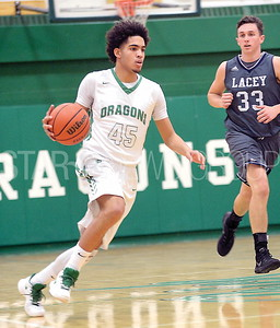 BRICK BOY'S VARSITY BASKETBALL 2017-18 VS LACEY TWP HIGH SCHOOL