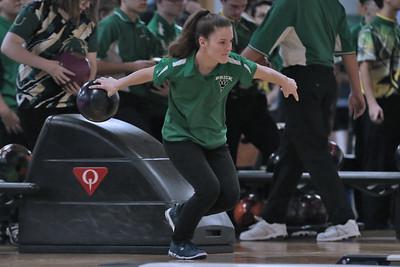 Brick Township High School bowling at Ocean Lanes in Lakewood on Friday November 30,2018 (MARK R. SULLIVAN/THE OCEAN STAR)
