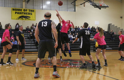 Daniel Coughlin [in center] The 2019 Point Pleasant Boro Kids v/s Cops basketball game in Point Pleasant Boro, NJ on 3/8/19. [DANIELLA HEMINGHAUS | THE OCEAN STAR]