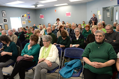 "A large turnout came to the Ocean County Library, Brick Branch to hear a performance of traditional Irish songs by the Celtic band ""Daoine"" on 03/09/2019. (STEVE WEXLER/THE OCEAN STAR)."