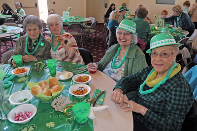 St. Martha's Roman Catholic Church in Point Pleasant borough hosted a traditional St. Patrick's Day dinner at the church on Thursday March 14, 2019. (MARK R. SULLIVAN /THE OCEAN STAR)