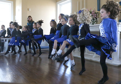 The Devrin Academy of Irish Dance from Point Pleasant. Allaire Village's 1830's style St. Patrick's Day festivities in Wall, NJ on 3/16/19. [DANIELLA HEMINGHAUS | THE COAST STAR]