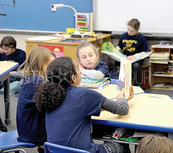 Bay Head k-8 read across America day: mixed grade group