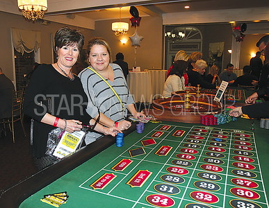 BORO casino night at Spring Lake Manor 03/11/2017 from L to R: Georgi Minervine and Niccole Lucich from Point