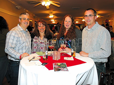 BORO casino night at Spring Lake Manor 03/11/2017 from L to R: Giuseppe Grammatico, Anita Grammatico, Beth Mcguire, Michael Mcguire all from Point