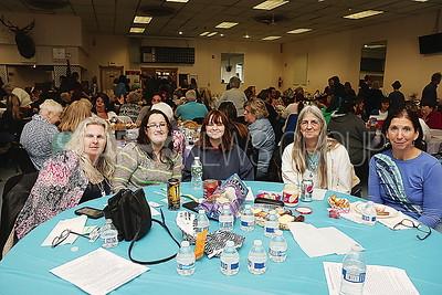 Brick JSAC Fundraiser// Brick residents L to R: Jeanie Masco. Megan Palmer. Nicki Baudanza. Barbara Palmer and Wendy Weill