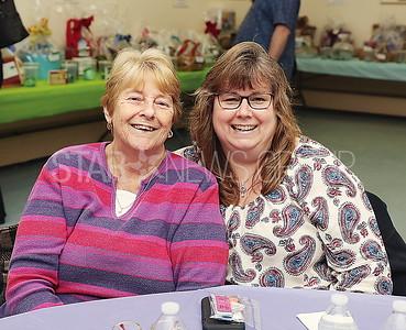 Brick JSAC Fundraiser// Brick residents Vivian McLain and Karen Sundheimer