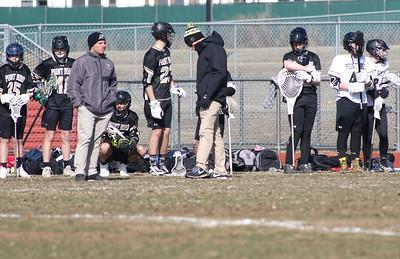 Point Pleasant Boro boys lacrosse v/s Jackson Liberty in Jackson, NJ on 3/28/19. [DANIELLA HEMINGHAUS | THE OCEAN STAR]
