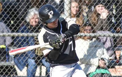 no.7, Christian Aurin. Point Pleasant Boro baseball v/s Barnegat in Point Pleasant Boro, NJ on 4/1/19. [DANIELLA HEMINGHAUS   THE OCEAN STAR]