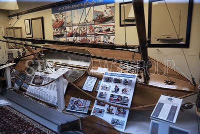 The  New Jersey Museum of Boating located at 1800 Bay Ave, Point Pleasant Beach is photographed on Monday April 16,2018. Sailboat display at the museum. (MARK R. SULLIVAN /THE OCEAN STAR)