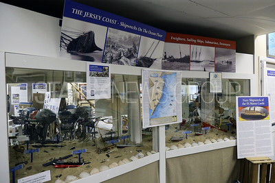 The  New Jersey Museum of Boating located at 1800 Bay Ave, Point Pleasant Beach is photographed on Monday April 16,2018. Display of ship wreaks off the New Jersey coast line. (MARK R. SULLIVAN /THE OCEAN STAR)