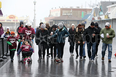 The Stroll to the Shore for a Cure charity walk to help fight multiple Myeloma took place along theJenkinson's Boardwalk in Point Pleasant Beach on Sunday April 15, 2018. (MARK R. SULLIVAN /THE OCEAN STAR)